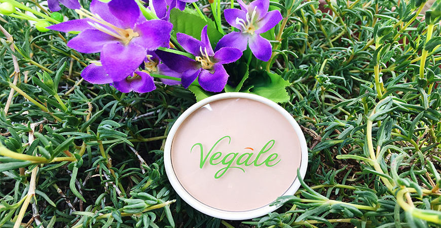 VEGALE Makeup 100% naturale : Recensione Cipria viso