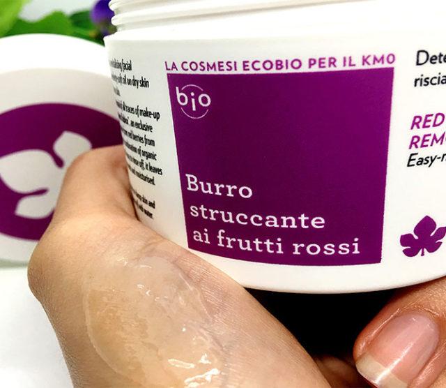 Struccaggio preferito del momento? Recensione burro struccante ai frutti rossi Biofficina Toscana 🍇🍃